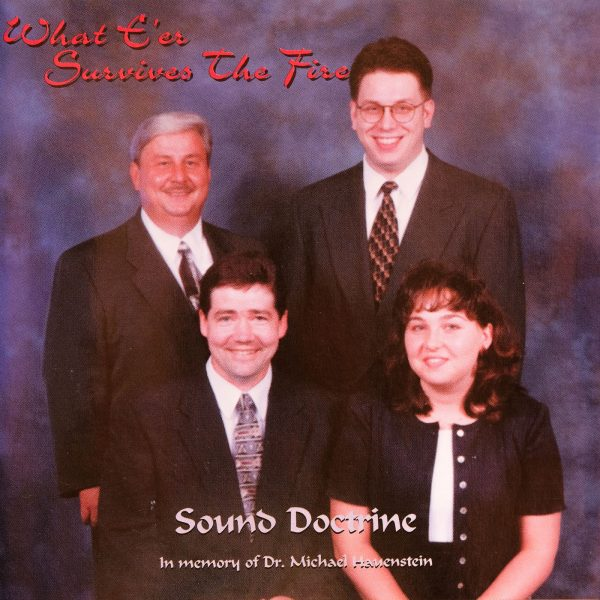 What E're Survives The Fire CD Cover